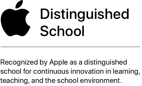 Apple Distinguished School Graphic