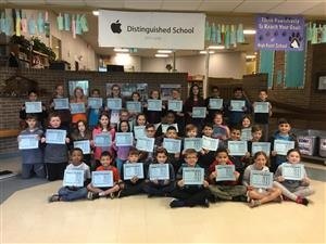 Students Recognized for Loyalty