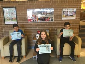 Students of the Month Recognized for LOVE