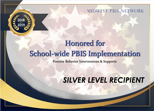 Honored for School-wide PBIS Implementation