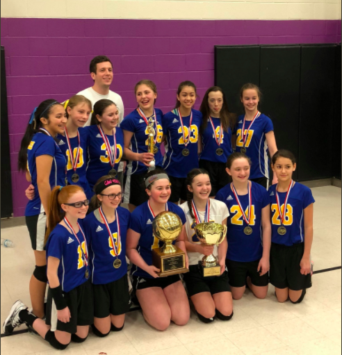 OJH historic volleyball win