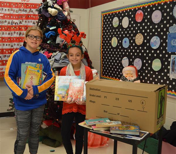 Liberty student-led book drive a success