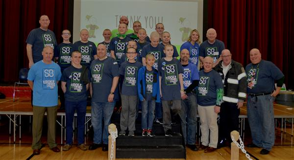 St. Baldrick's Day at Jerling Jr. High