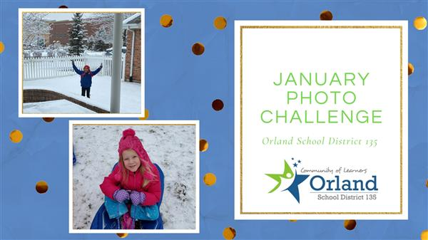Thank You To All The Families Who Participated in the January Photo Challenge!