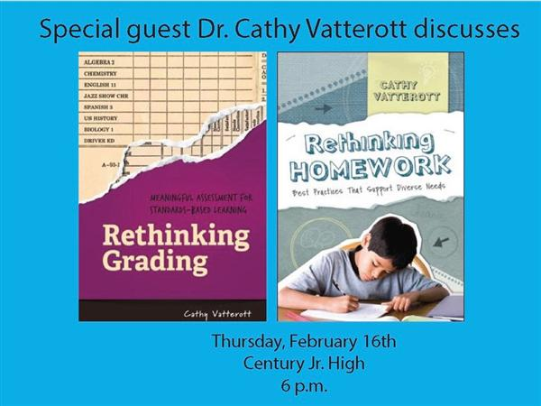 Special Guest Speaker Dr. Cathy Vatterott